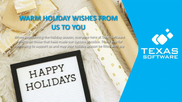 Happy Holiday - Texas Software